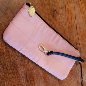 Betsey Johnson Nylon Cosmetic Bag Pink